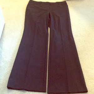 Express Black Work Pant With Flare
